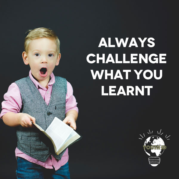 """Always challenge what you learnt"" Yoel Zirah"