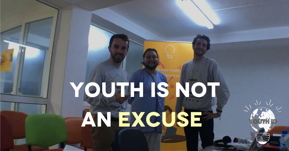 """Youth Is Not An Excuse"" Adnane Addioui 30-under-30, social entrepreneurship"
