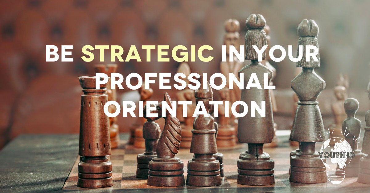 """Be strategic in your professional orientation"" Malek Abualfailat"