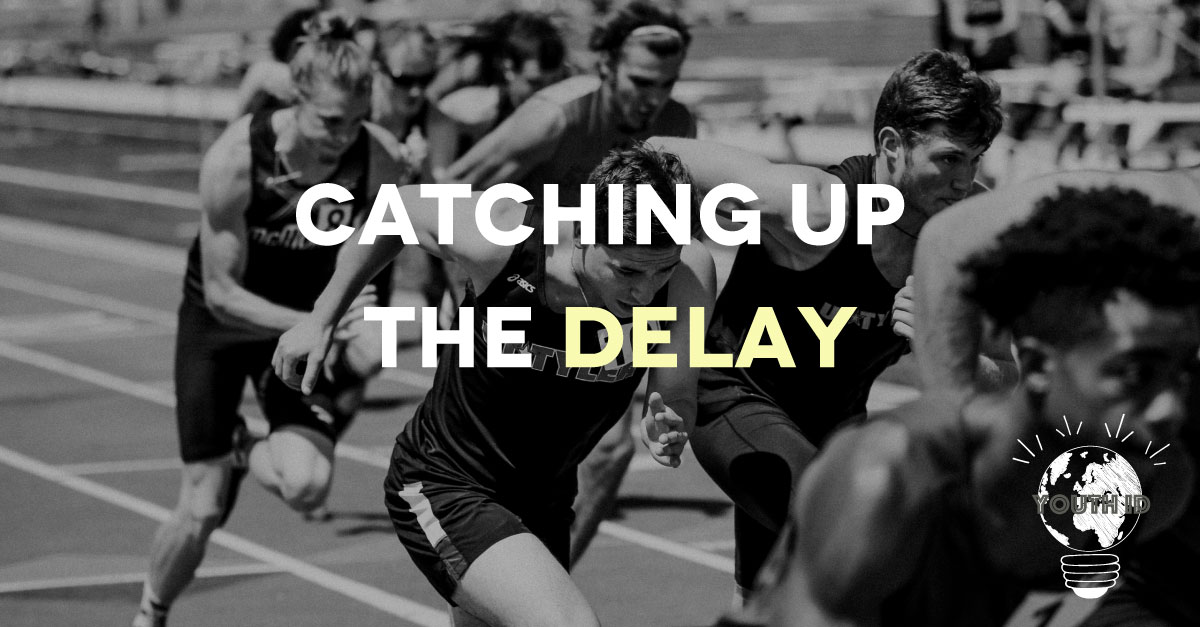 """catching up the delay"" Malek Abualfailat"
