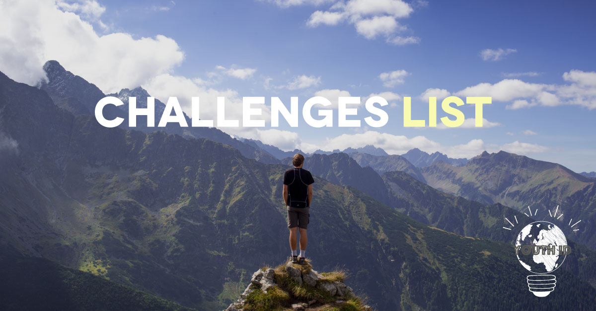 Challenges List with Youth ID
