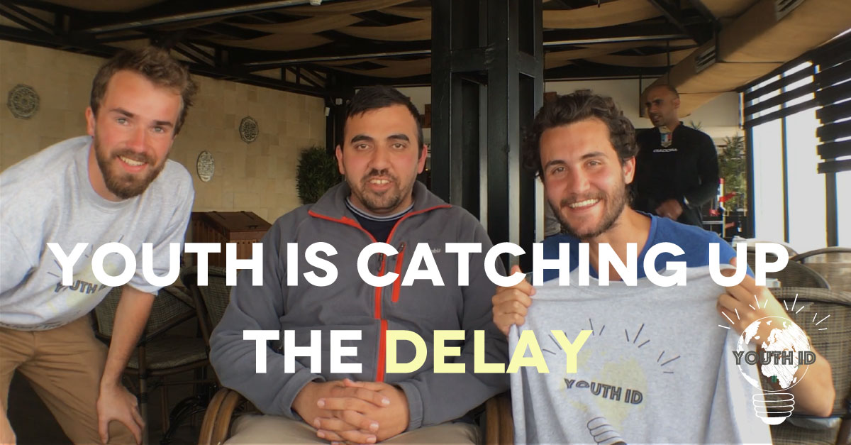 "Malek Abualfailat (30 yo), ""Catching up the delay…"""