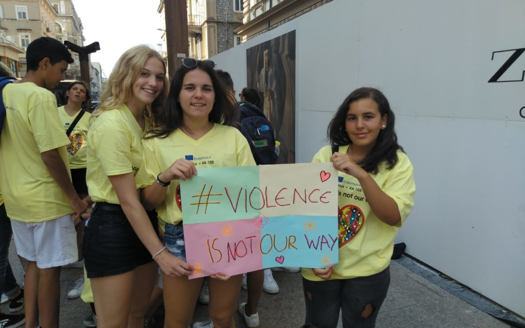 "Youth Exchange ""Violence Is Not Our Way"", Croatia"