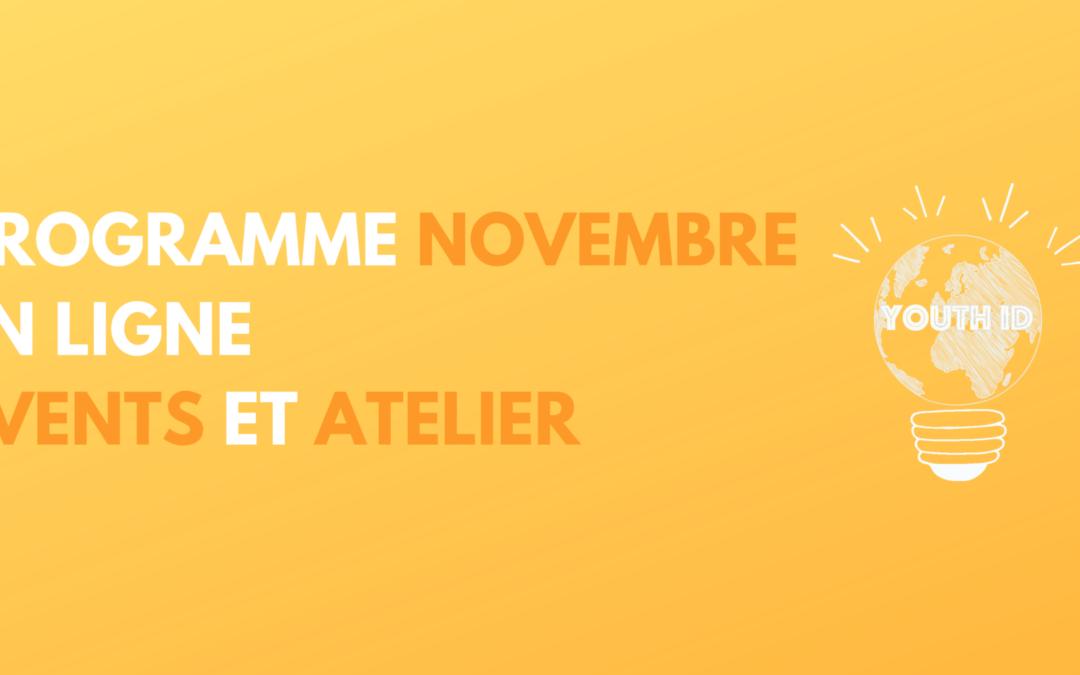 Programme du Mois de Novembre